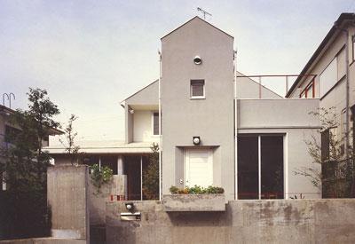 能見台の家(1983年竣工)