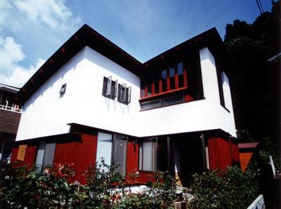 鎌倉二階堂の家 (2003年竣工)