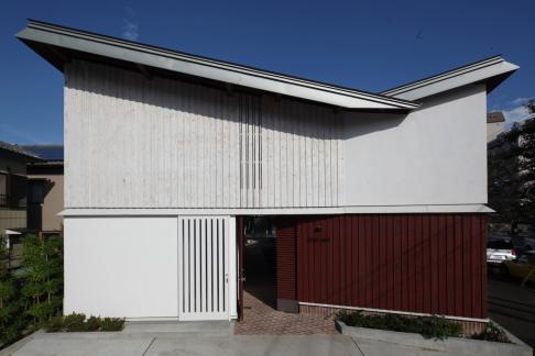 洲崎町の町屋 (2012年竣工)